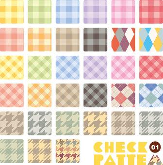 Verificación de colección de patrones 01