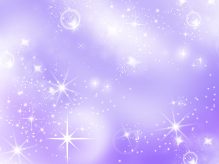 Background Starry Sky Purple