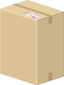 紙板箱垂直的快遞服務