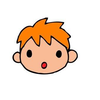 갈색 머리의 소년 2