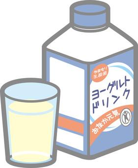 Drinking yoghurt (mini bottle)