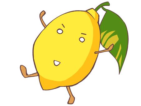 元気なレモン