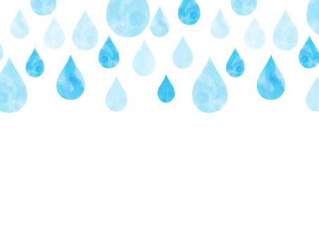 빗방울의 배경