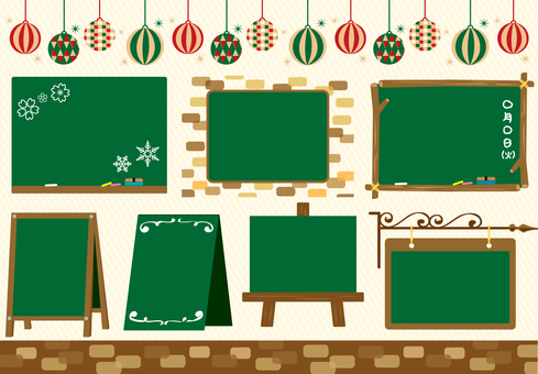 Blackboard frame set