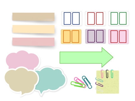 Stationary · Sticky Notes · Clip