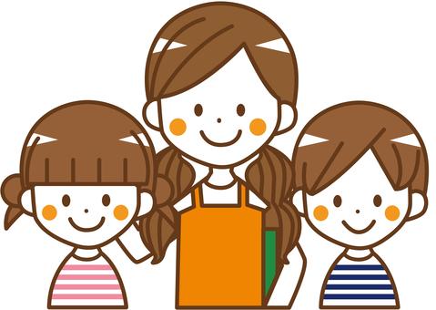 Children and teachers _No.13
