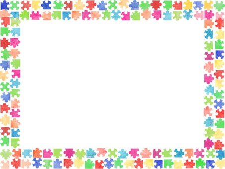Jigsaw Puzzle Frame ②