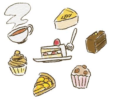 I want to eat cake
