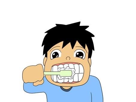 Let's brush my teeth