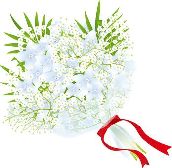 Flower & blurred flower bouquet 3