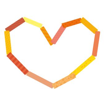 Heart Master Frame Orange