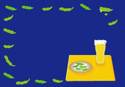 Beer and Edamame - Frame Navy System