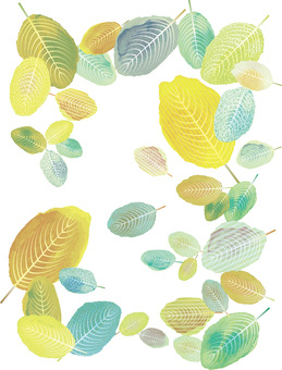 Fresh green leaves Young leaves background Spring early summer May July August wallpaper drawing