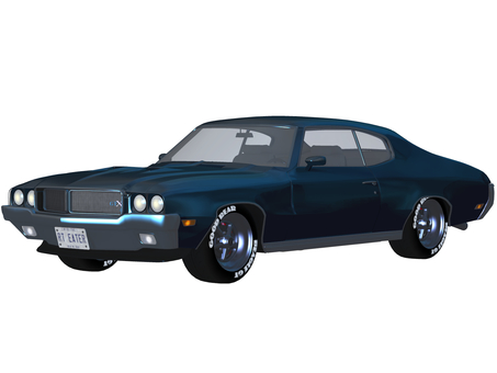 Muscle car 02