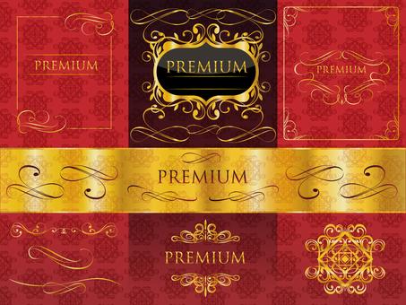Premium Binji Frame