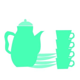 Pot and cup
