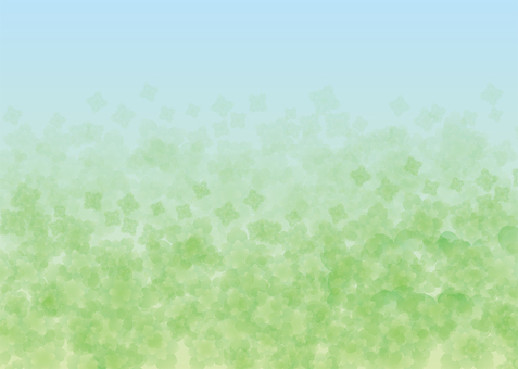 Mint, Background, A4 Horizontal, with feet