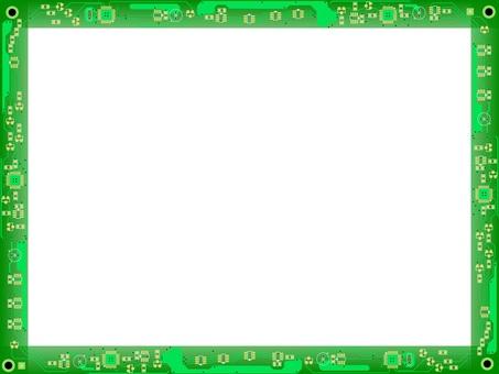 Printed circuit board frame