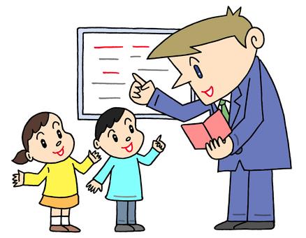 Children's English education.2