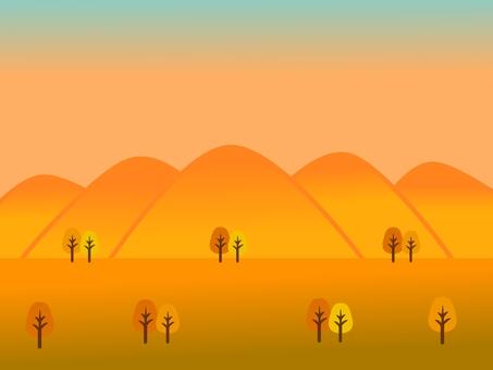 가을의 황혼