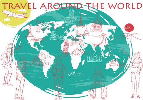 世界旅行  バックパッカー