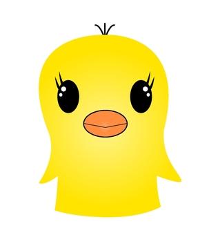 "Illustration ""chick"""
