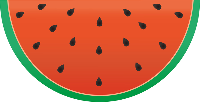 Watermelon (half cut)
