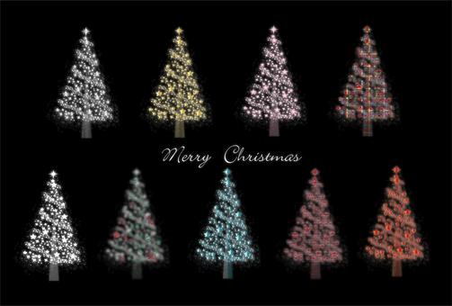 Christmas various tree sets