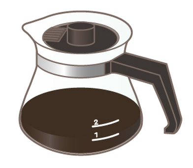 Coffee pot _ glass
