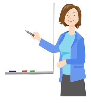Women's seminar lecturer