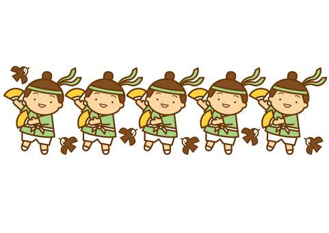 すずめ踊り-4c