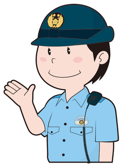 Female policeman (summer clothes)