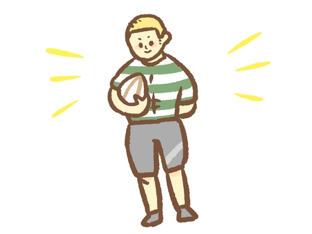 Sportsmen such as rugby