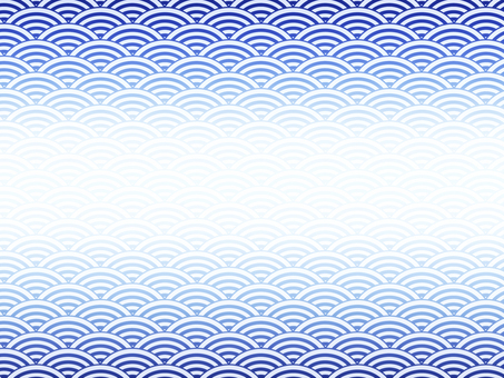 Japanese pattern Qinghai wave pattern background