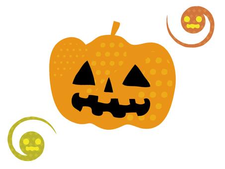 Polka dot halloween