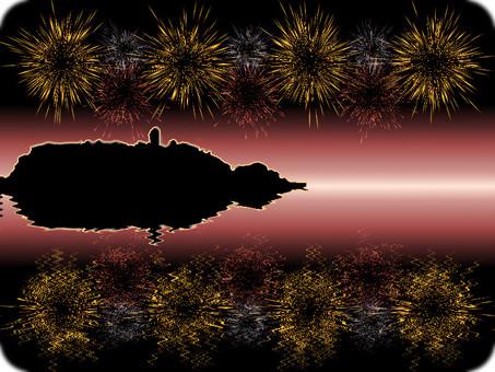 Enoshima fireworks 2
