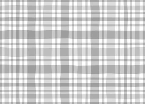 Check pattern natural (gray)