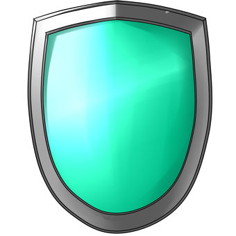 Easy material shield green (blue green)