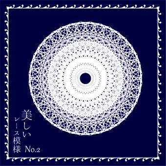 Beautiful lace pattern 2