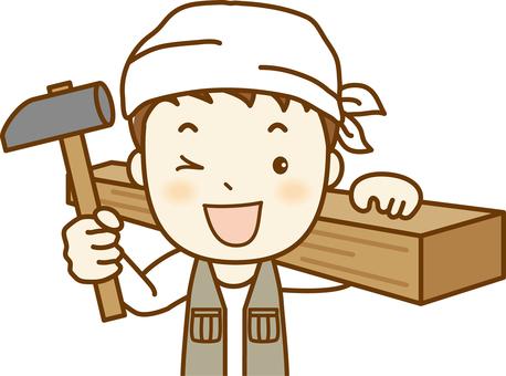 """Carpenter"" DIY 1 up"