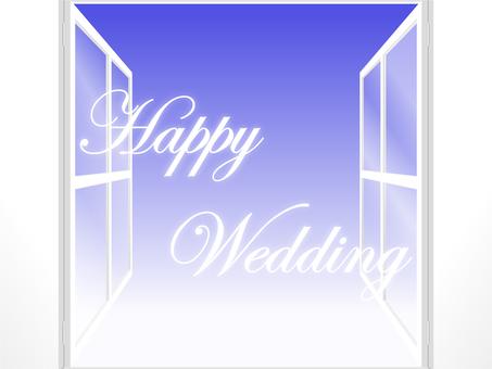 White window ~ Happy Wedding ~