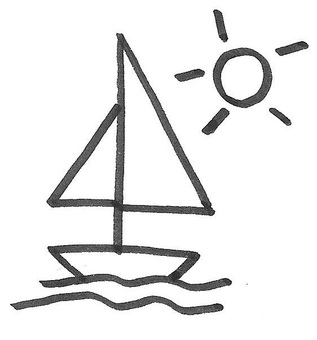 Yacht sun sailboat yacht