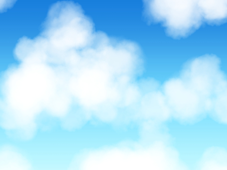 여름의 구름