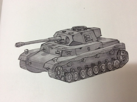 No. IV D type tank
