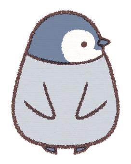 Pussy Penguin Hina Sideways