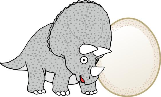 恐龍三角龍