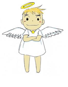I am an angel.