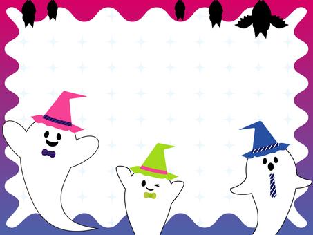 Halloween background _ gradation 1
