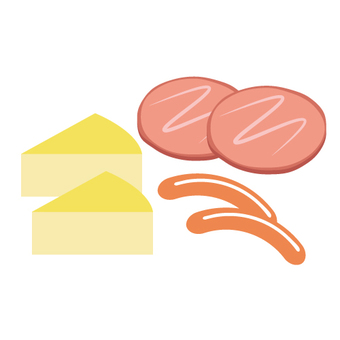 開胃菜(火腿·香腸·奶酪)
