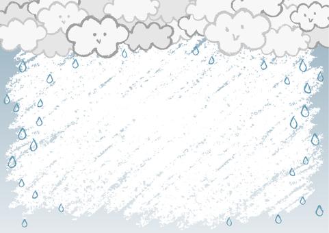 Crayon's cloud frame